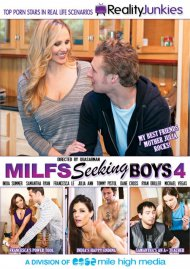 MILFS Seeking Boys 4 DVD Box Cover Image