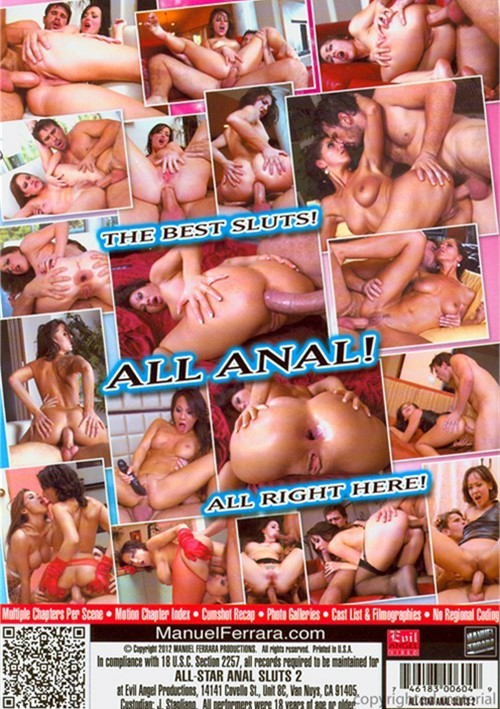 All-Star Anal Sluts 2. Evil Angel / Year: 2012. Adult DVDRentalVOD