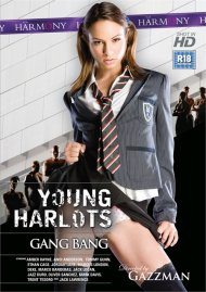 Young Harlots: Gang Bang DVD Box Cover Image