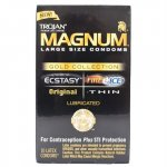 Trojan Magnum Gold Collection Lubricated - 10 Pack Sex Toy
