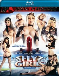 Fly Girls Blu-ray Box Cover Image