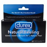 Durex Natural Feeling Lubricated - 12 Pack Sex Toy