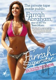Farrah Superstar: Backdoor Teen Mom DVD Box Cover Image