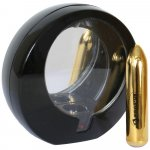 RO 80mm Rechargeable Bullet - Gold Compact Sex Toy